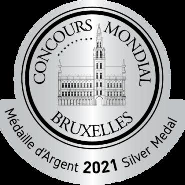 Medalla de Plata Concours Mondial Bruxelles 2021